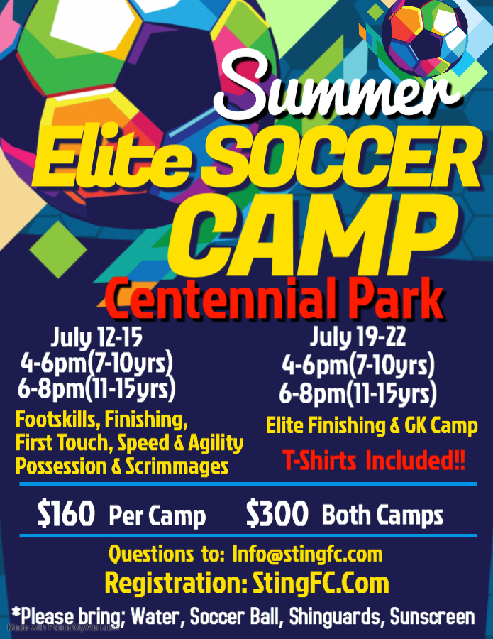 Copy of Summer Soccer Camp Flyer - Made with PosterMyWall
